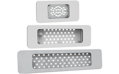 Airplane LED Low Profile Galley Light